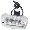 CatEye Blitz TL-LD330G Rücklicht weiß/schwarz